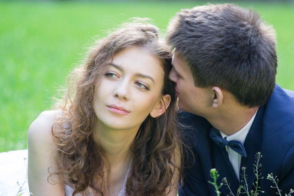 fotograf plener ślub Trzebiel