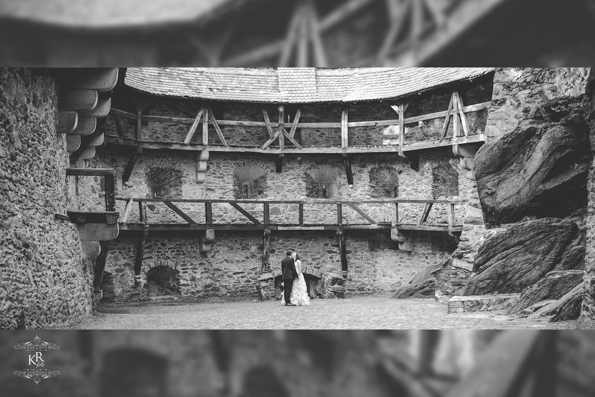 37 plener ślubny - Zamek Czocha