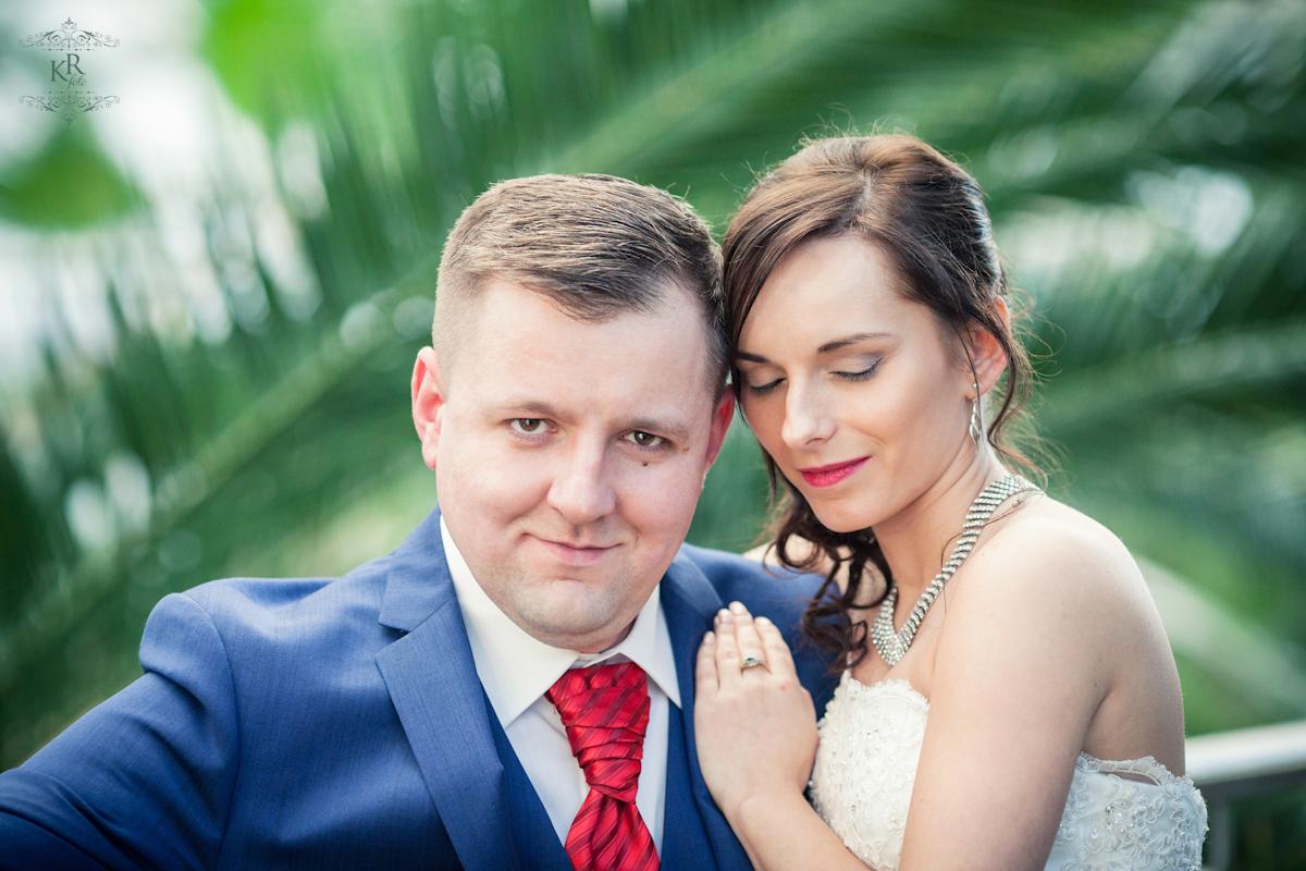 18 plener ślubny - palmiarnia Zielona Góra